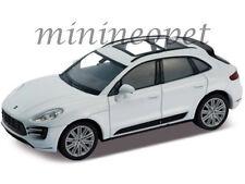 WELLY 24047 PORSCHE MACAN TURBO 1/24 DIECAST MODEL CAR WHITE