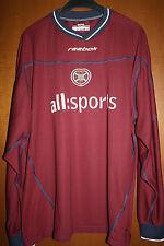 Maglia Shirt Maillot Jersey Hearts of Midlothian Scozia Scotland Football Reebok