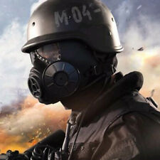 Practical Mask M04 Antivirus CS mask Gas Mask NBC Halloween Costume Black