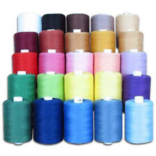 Sewing Thread Silk for embroidery Assorted Colors gitti Lot Of 25 Spools