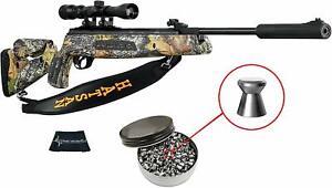 Hatsan Mod 125 Sniper Camo Vortex QE .22 Caliber Air Rifle with Included Bundle