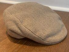 Tweed Flat Cap. M