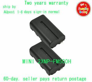 2X NP-FM500H Battery for Sony A77 II A99 A100 A200 A350 A450 A500 A550 A580 A700