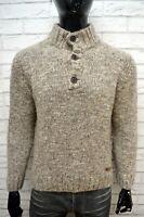 MARLBORO CLASSICS Maglione Collo Alto Uomo Pullover Maglia Sweater Man Taglia L