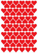 Heart Shapes Scrapbooking Stickers