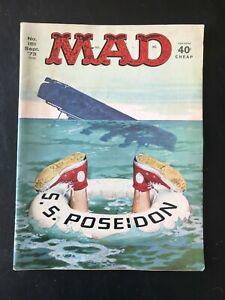 1973 MAD Magazine #161 September 1973 MAD S.S. Poseidon