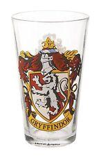 Harry Potter Gryffindor Vaso De Vidrio Grandes pinta Crest En Caja
