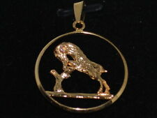 10k Gold pendant with a Aries Ram design
