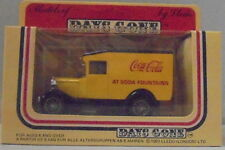 KKar LLedo - Days Gone - 13009 Model A Ford Van - Yellow - Coca-Cola