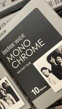 600 Prints Fujifilm Instax Wide Monochrome Black & White Film expired 2019