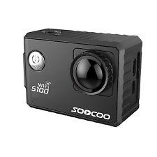 "SOOCOO S100 Action Sports Camera 2.0"" 4K Wifi Built-in Gyro 30M Waterproof DV"