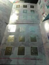 China Chrysanthemum 18 Values of Gold Stamp In 2 Original Packs- Unusual