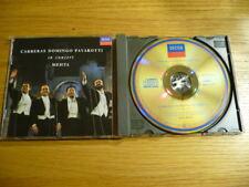 CD Carreras, Domingo, Pavarotti & Mehta – In Concert Near Mint