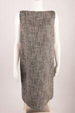 Jones New York Women's Dress Size 10 Sleeveless Knit Black White Career NWT