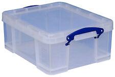 REALLY USEFUL BOX 18 Liter Lagerbox Stapelbox Kiste Aufbewahrungsbox 253872 WoW