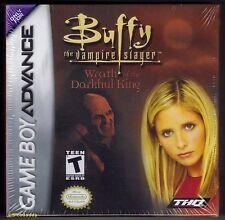 Gba Buffy, la cazavampiros (2003) totalmente nuevo y sellado de fábrica de Nintendo