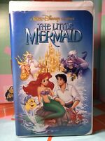 Disney The Little Mermaid (VHS, 1989, Diamond Edition) Banned Cover