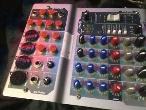 Peavey PV6 Audio Mixer JACKCAP Set,18 x Dust Plug Protection caps 6.3mm Male XLR