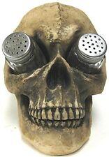 Salt Pepper Shakers Set Creepy Evil Scary Skeleton Skull Kitchen Party Decor Us