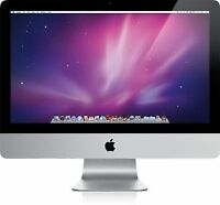 "Apple iMac A1311 21.5"" Core 2 Duo 3.2GHz 8GB RAM 1TBGB HDD - Aluminium A Grade"