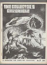 1970 THE COLLECTOR'S CHRONICLE Fanzine #3 FN+ 6.5 Barbarella 32pgs