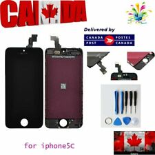 LCD Lens Touch Screen Display Digitizer Assembly Replacement Black for iPhone 5C