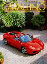 Cavallino Jun/Jul 2001 #123 - Ferrari 360 Spider, F2001 launch, Sultan of Brunei