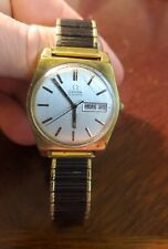 Vintage Omega Automatic Day Date Vintage 1970s Mens Watch