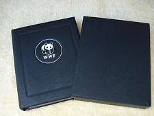 WWF COLLECTION OF STAMPS, FDC'S & INFORMATION SHEETS IN BINDER & SLIPCASE (JP-2)