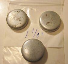 """(3) - VTG NOS 1-1/8"""" (1.125"""") (28.575mm) Steel Cup Type Freeze Expansion Plug"""