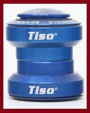 NOS TISO THREADLESS 1+1/8 INCH HEADSET 90s VINTAGE MTB AHEAD A-HEAD W/TOP CAP