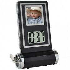 "1.5"" LCD Mini Digital Album Photo Picture Frame Clock Temperature Calendar Gifts"
