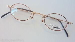 Eyelike Glasses Frames Extrakleine, Oval Metal Glasses Oldschool 39-25 Size S