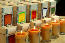 "4 VOTIVO AROMATIC CANDLES ""YOUR CHOICE""  PLUS FREE SHIPPING"