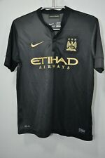 NIKE M.C.F.C. JERSEY 12-13 YRS PRIDE IN BATTLE  BLACK