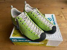 Scarpa Mojito Bright Lime Climbing Shoes Trainers UK 10.5 EU 45