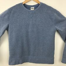 Everlast Sport Womens Sweatshirt Sz Small Plain Blue Athletic Crewneck Pullover