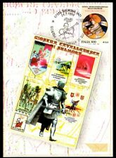 Italy 1999: Carousel Knight of Sulmona-Official Postcard Post it.
