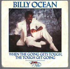 WHEN THE GOING GETS TOUGH, THE TOUGH GET GOING vocal-instrumental # BILLY OCEAN