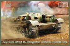 40 / 43m ZRINYI II-WW II ungherese semoventi 105mm FUCILE D'ASSALTO # 051 1/72 IBG