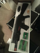 2 different air soft guns rifles brand new in box and 10000 rounds