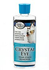 Four Paws Crystal Eye Stain Remover For Cat & Dog 4OZ (Free Shipping in USA)