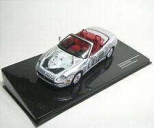 1 43 IXO Maserati Spyder Cambiocorsa Albert Einstein 2002 silver