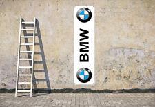 Logo BMW atelier Garage travail ou Showroom PVC Drapeau
