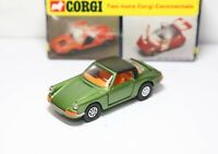 Corgi 382 Porsche Targa 911S In Its Original Box - Near Mint Vintage Model