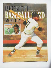 ROBERTO CLEMENTE Beckett Baseball Card Magazine Monthly Price Guide May 1989