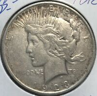 """1923-D  """"VAM""""  **** PEACE DOLLAR ****  L@@K AT PICTURES!!!!!   #1818"""