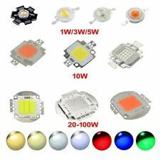 High Power LED Chip 1W 10W 100W COB SMD LED Bead White RGB UV Grow Full Spectrum