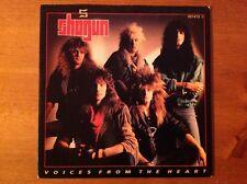 SHOGUN 1988 vinyl 45rpm single VOICES FROM THE HEART