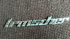 Irmscher Vauxhall Opel badge
